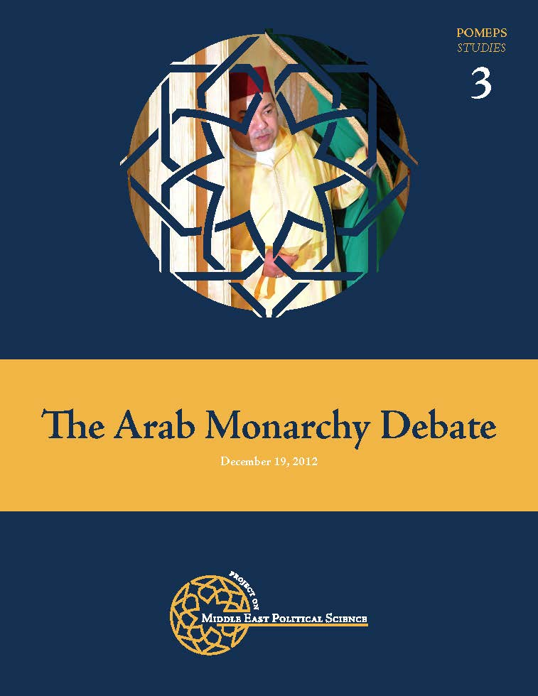 The Arab Monarchy Debate