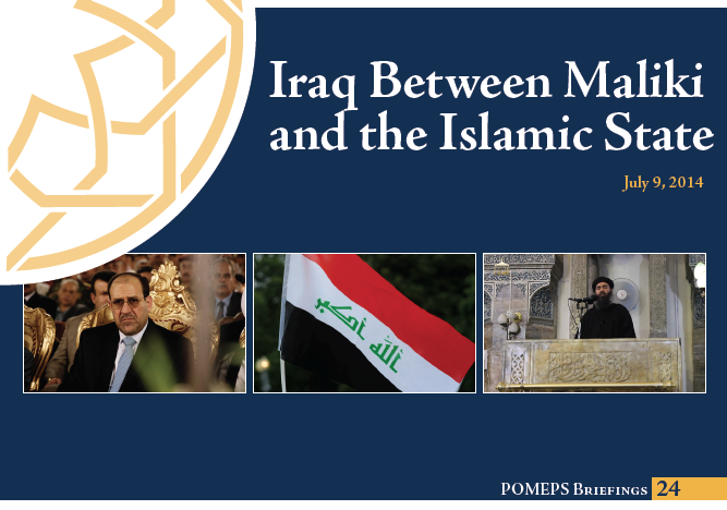 Iraq Between Maliki and the Islamic State