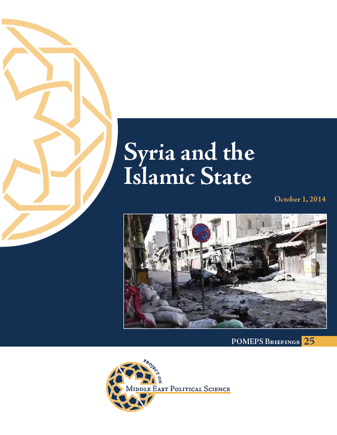 Syria and the Islamic State