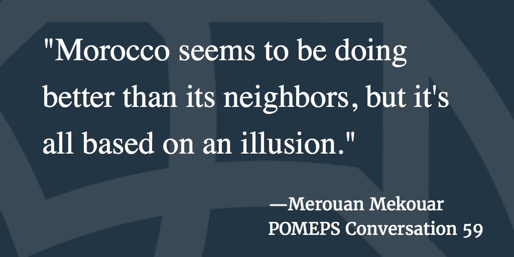 POMEPS Conversation 59: Merouan Mekouar