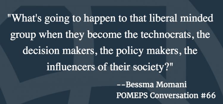 POMEPS Conversation 66: Bessma Momani