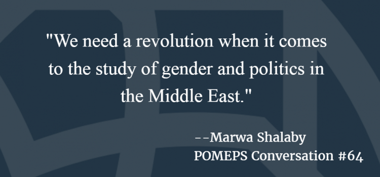 Week in Review: Gender and politics; The New Arab Wars; Twitter