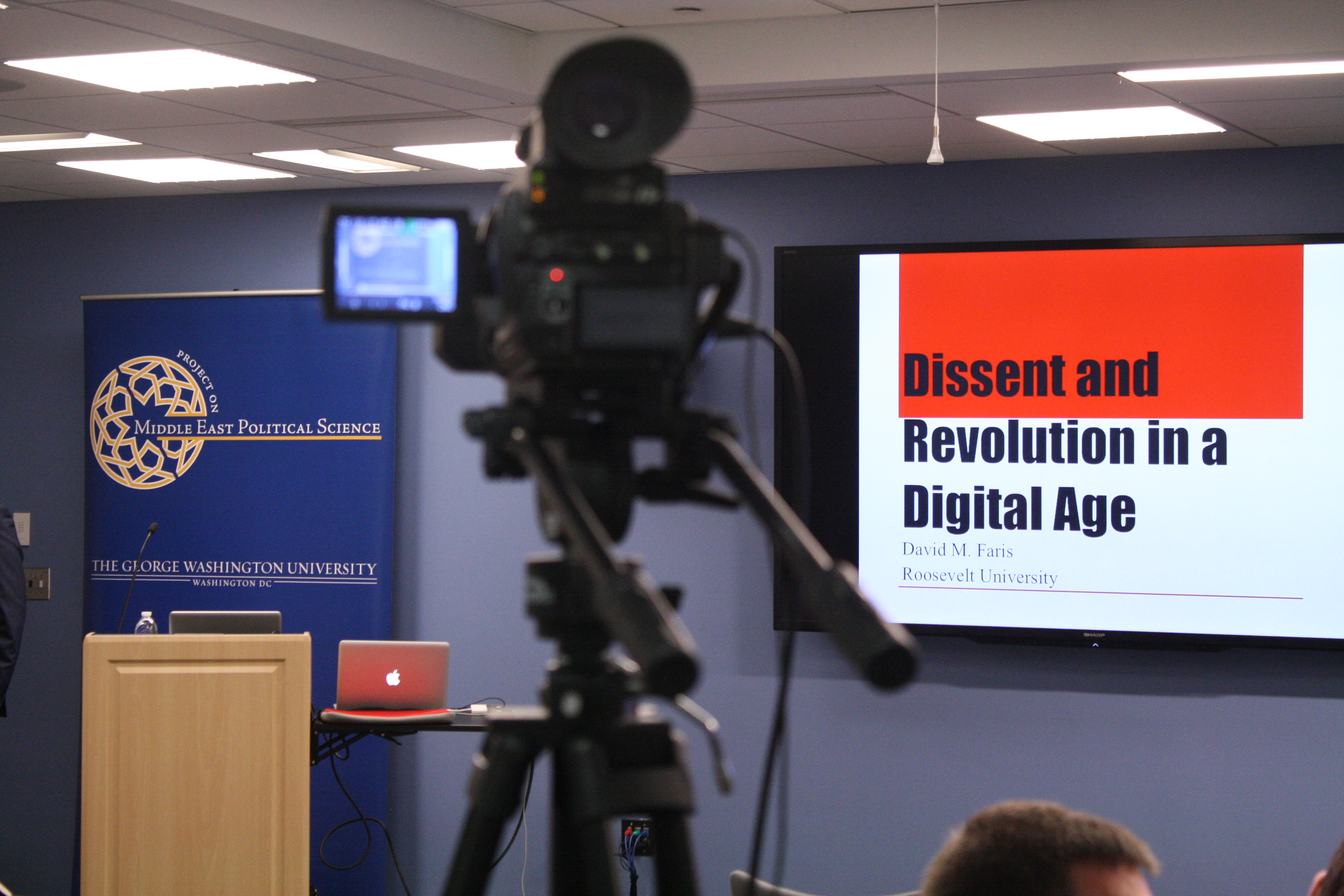 """""""Dissent and Revolution in a Digital Age"""" – A Conversation with David Faris"""