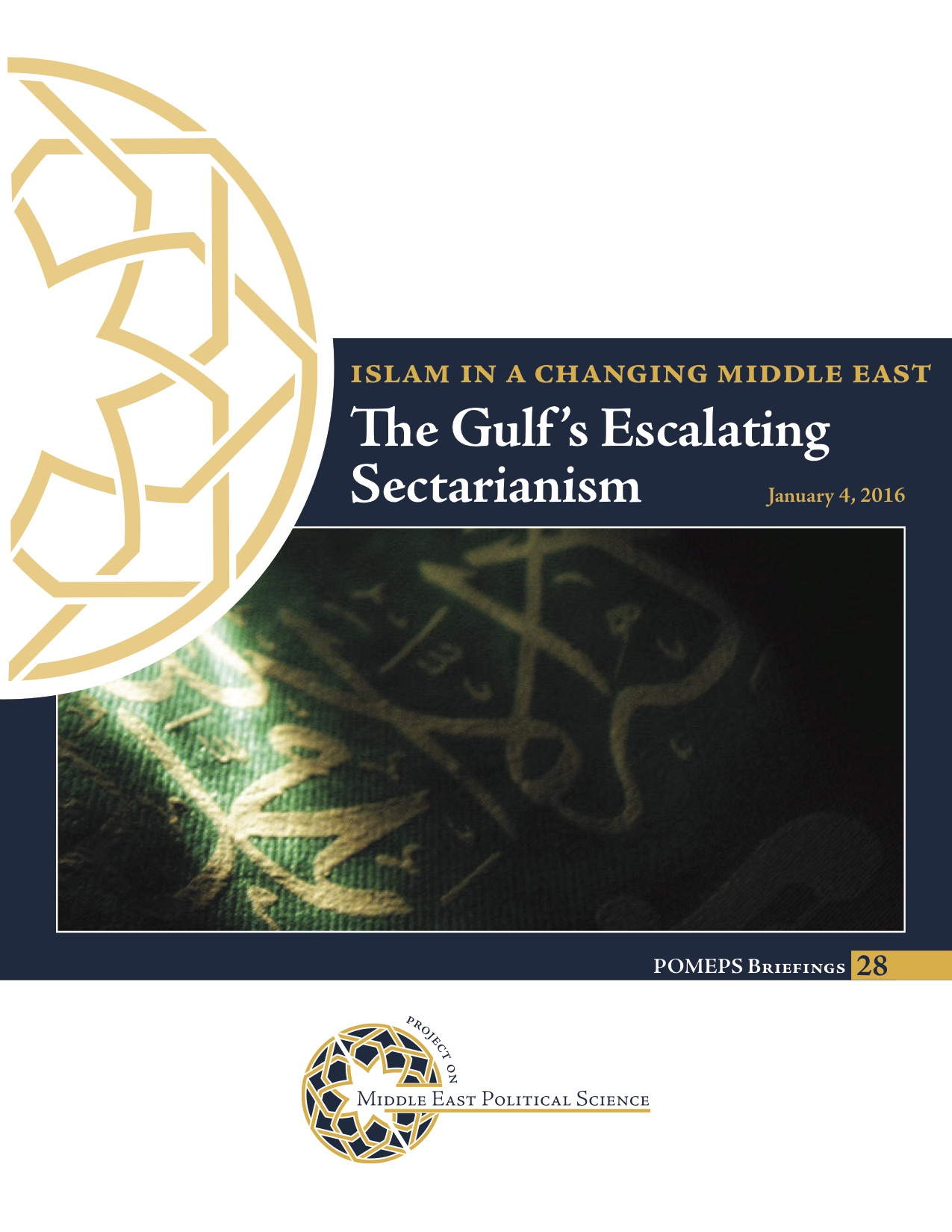 The Gulf's Escalating Sectarianism