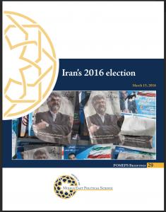 POMEPS Briefing Iran election