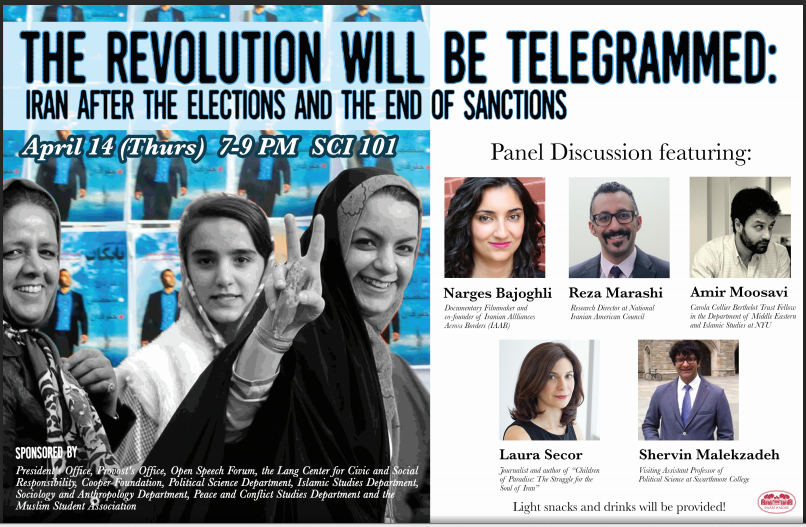 The Revolution Will be Telegrammed: Iran After the Elections and the End of Sanctions