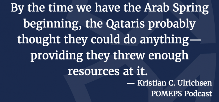 The Gulf Crisis: A Conversation with Kristian Coates Ulrichsen