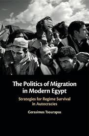 "Book Launch: ""The Politics of Migration in Modern Egypt"" with Gerasimos Tsourapas @ Elliott School of International Affairs, Room 505"